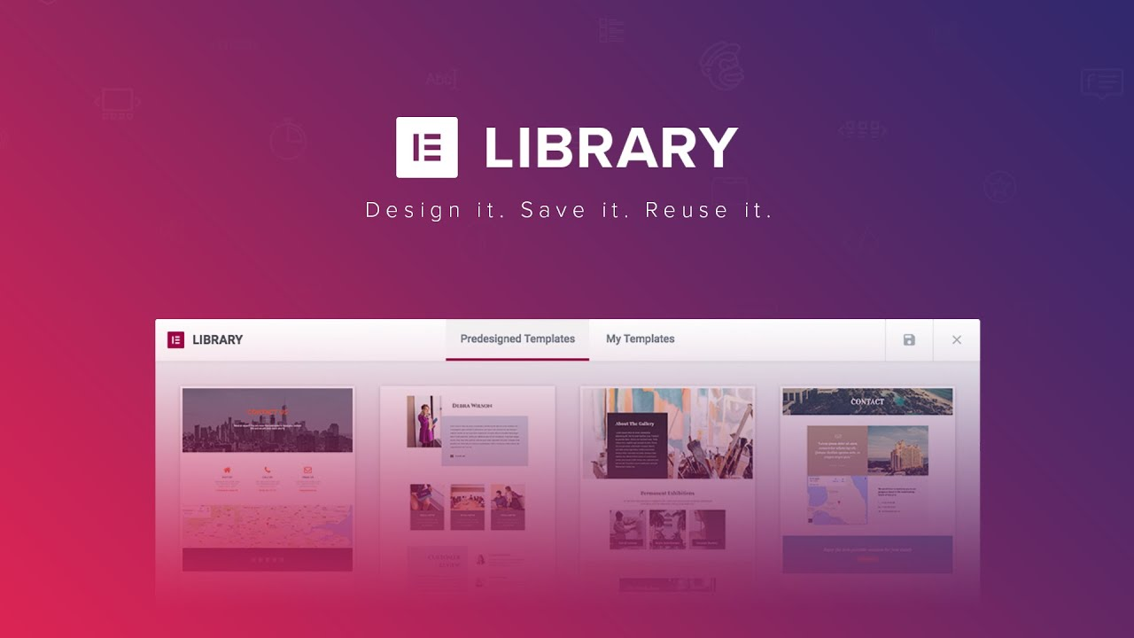 Free Download Elementor Templates Pro