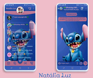 Animal Theme For YOWhatsApp & Fouad WhatsApp By Natalia Luz