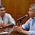 CHACO: PEPPO RECIBIÓ A JORGE CAPITANICH PARA COMENZAR A TRABAJAR EN EL PROCESO DE TRANSICIÓN