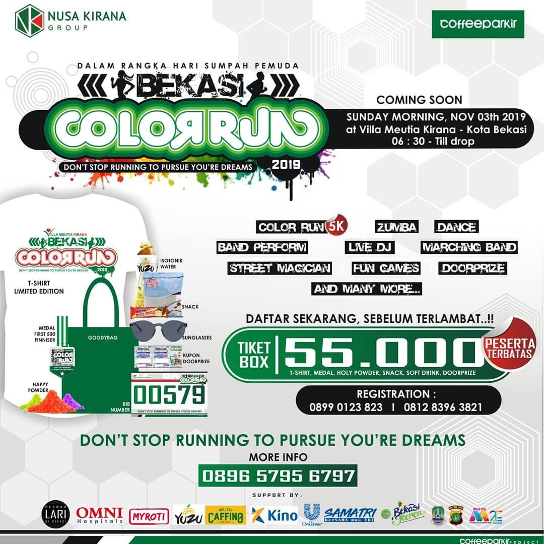 Bekasi Color Run • 2019