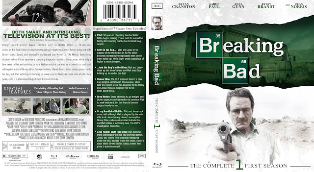Breaking Bad Season 1 Bluray Cover