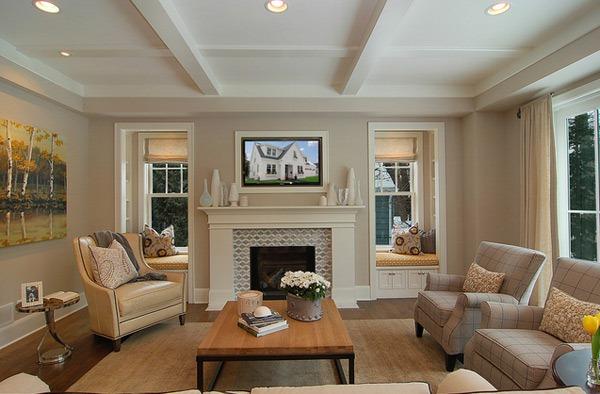 Desain Ruang Tamu Tradisional Bergaya Modern