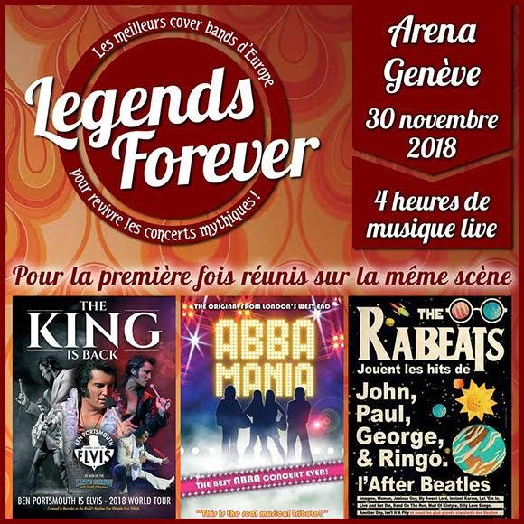 Elvis, Abba et les Beatles réunis à l'Arena de Genève