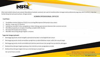 Lowongan Kerja Terbaru Surabaya D3 S1 November 2019 di Inspire