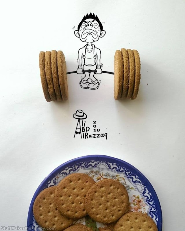 33 Funny Illustrations Featuring Everyday Objects By Ali Abd Alrazzaq