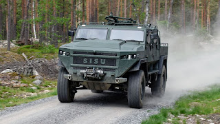 Kendaraan Taktis SISU GTP 4×4