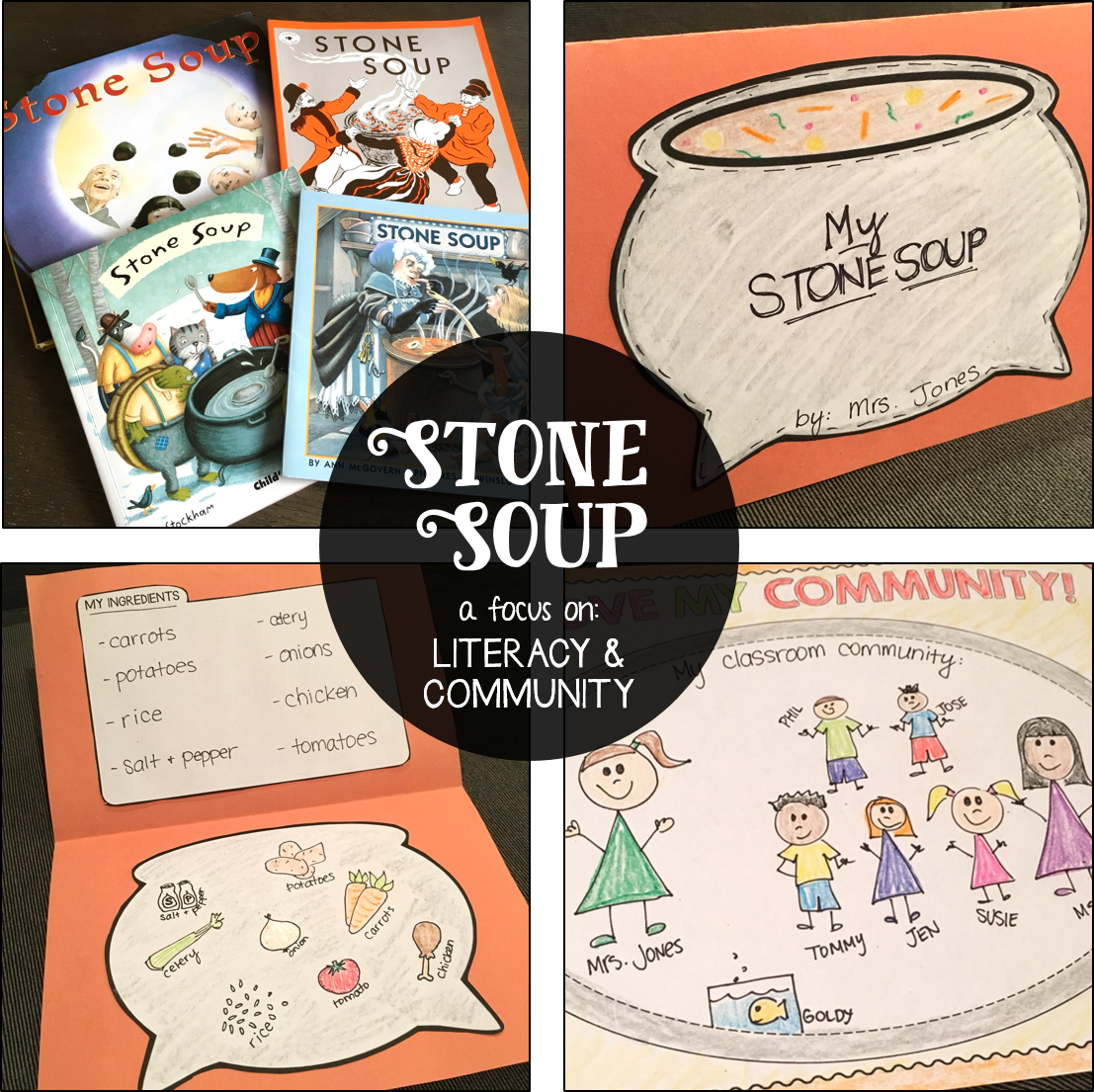 Stone Soup A Literacy Amp Community Unit