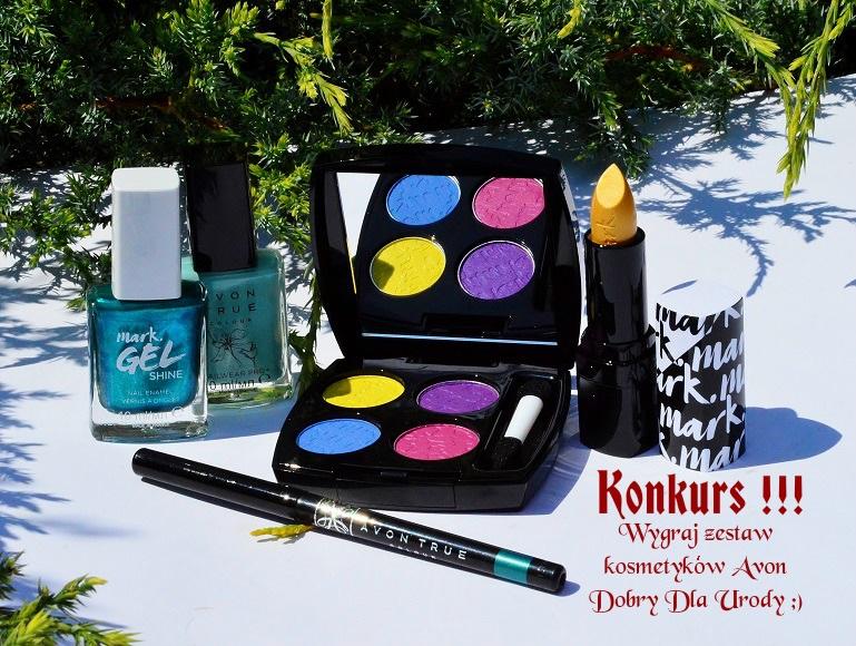 KONKURS!!! Zgarnij zestaw kosmetyków do makijażu Avon
