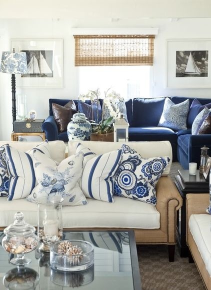 Download image navy blue and white living room decor pc android