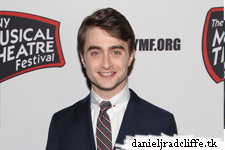 Updated(3): Daniel Radcliffe attended NYMF Gala