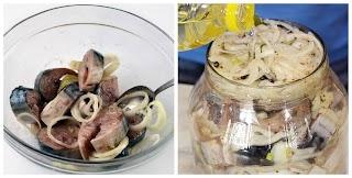 Швидкий рецепт маринування скумбрії в банці. Пару годин і все готово