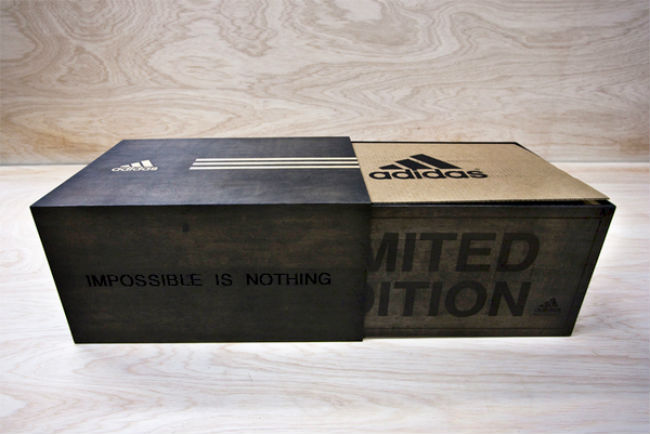 Adidas Memorabilia Concept Prototype On Packaging Of The