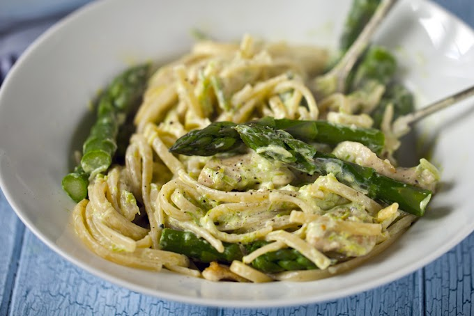 PASTA WITH ASPARAGUS
