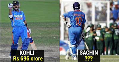 Updated List of Top Five Richest cricketers in this year
