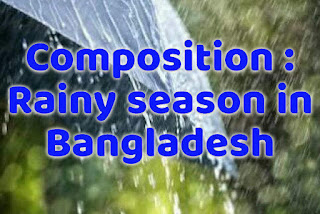 Rainy season in Bangladesh