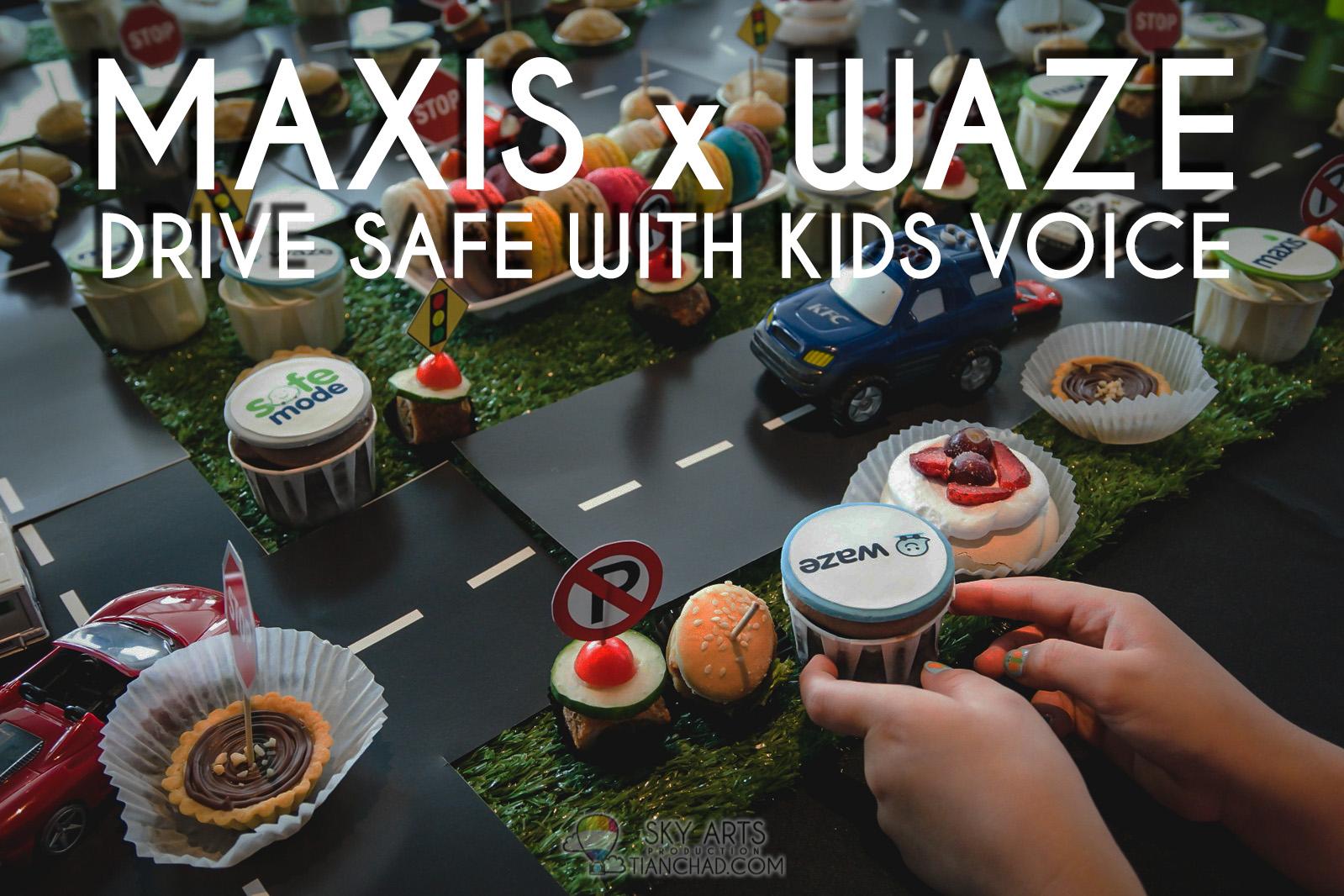 Maxis x Waze: Drive Safe With Kids Voice
