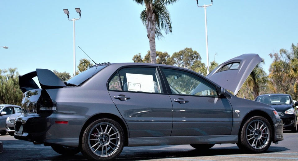 Zero owner mitsubishi evo ix mr sells for 138k sciox Images