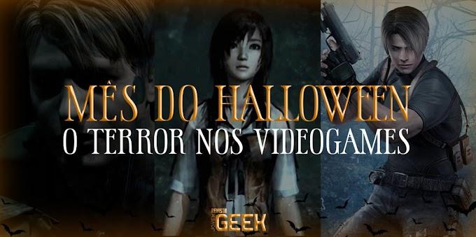 Mês do Halloween: O Terror nos Videogames