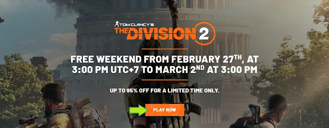 Tom Clancy's The Division 2 Ubisoft Gratis Uplay