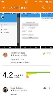 Review Ulasan Aplikasi Cek KTP by Mychael Go