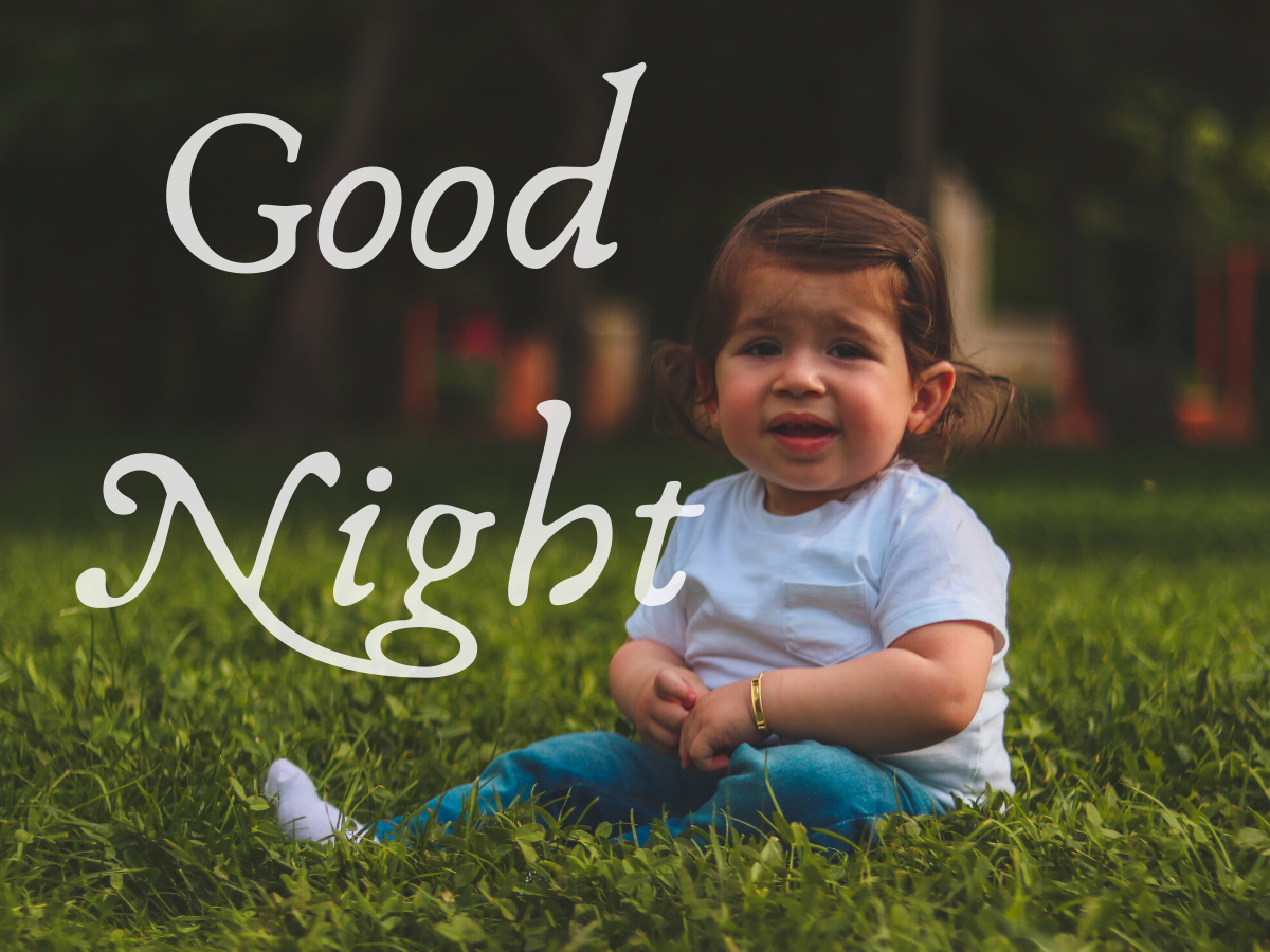 Cute Baby Good Night Images Wallpaper free download