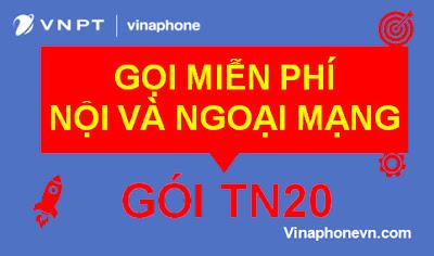 Gọi Ngoại mạng và Nội mạng Miễn phí cùng gói TN20 VinaPhone! vinaphonevn.com
