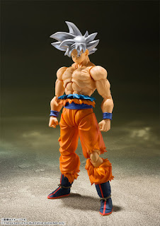 "S.H.Figuarts Ultra Instinct Son Goku de ""Dragon Ball Super"" - Tamashii Nations"
