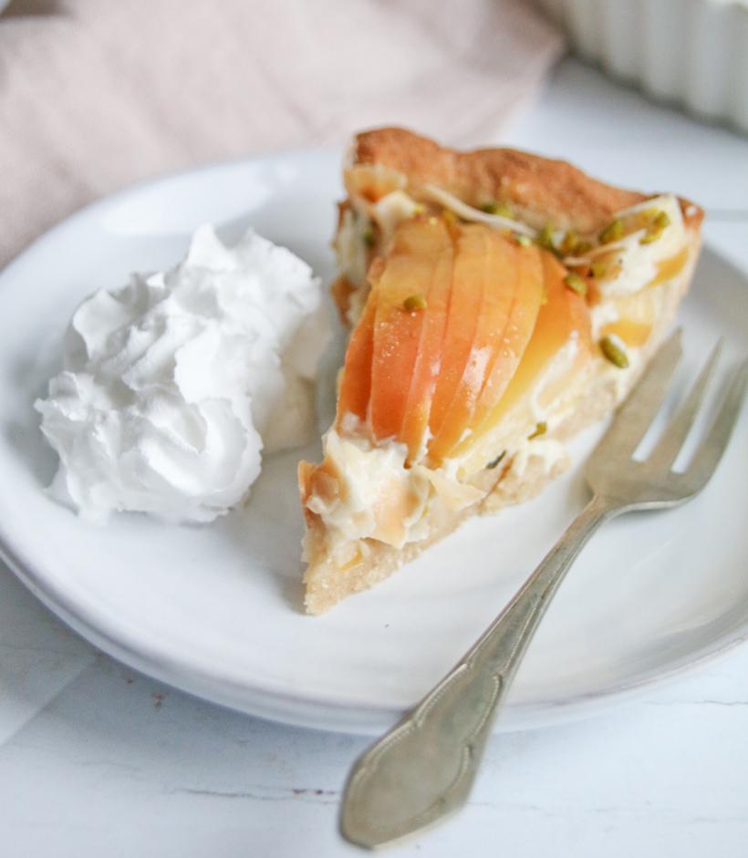glutenfreie Apfel-Kokos-Tarte