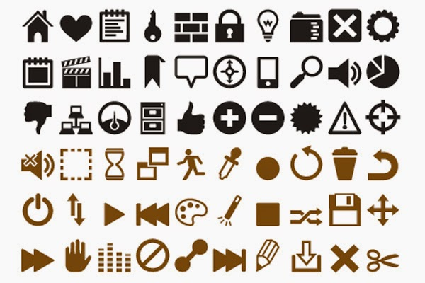 An App Icon Font by Heydon Pickering