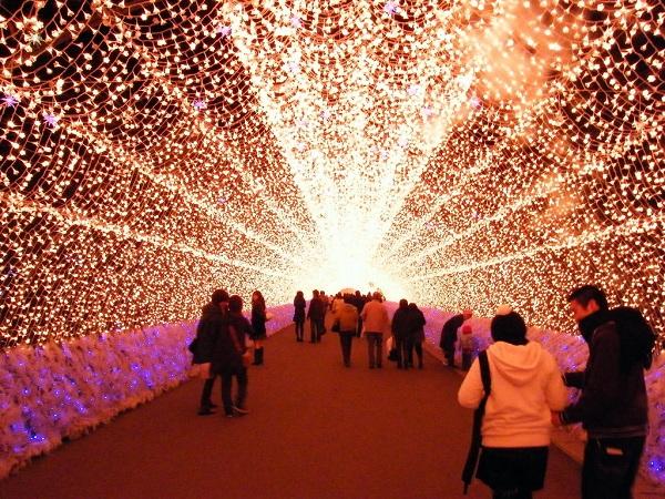 Lễ hội ánh sáng Nabana no Sato