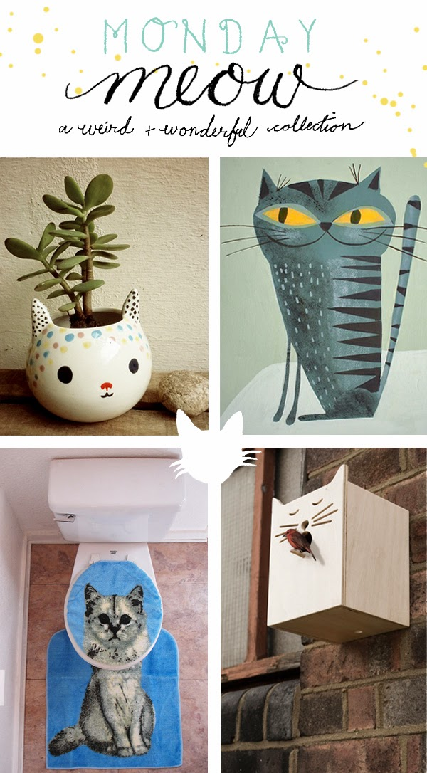 Happiness is... Monday Meow - a collection of weird and wonderful cat stuff