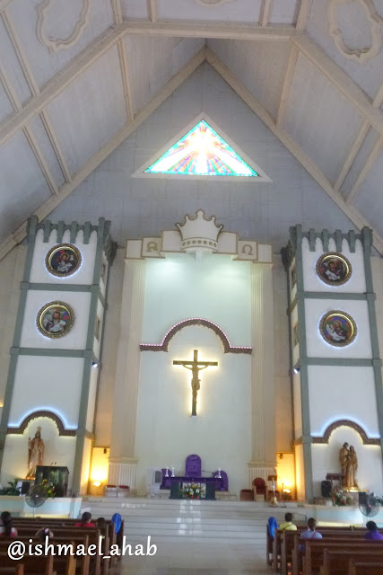 Altar of Christ the King Cathedral in Tagum, Davao del Norte