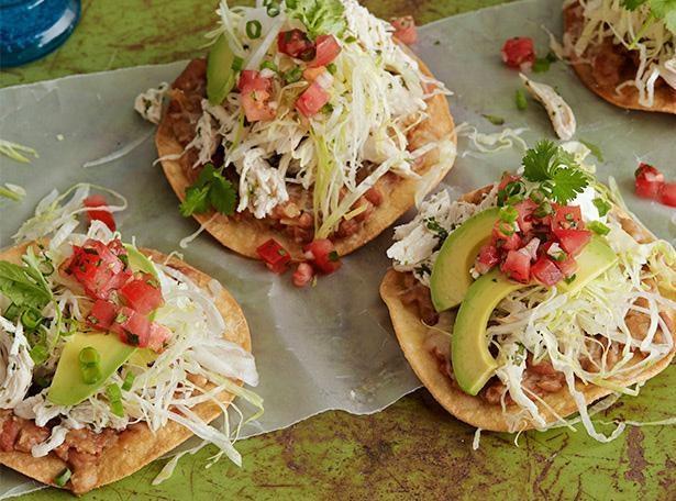 mexican, food, Tinga, de pollo, serve, cooking, food, recipe, how to make