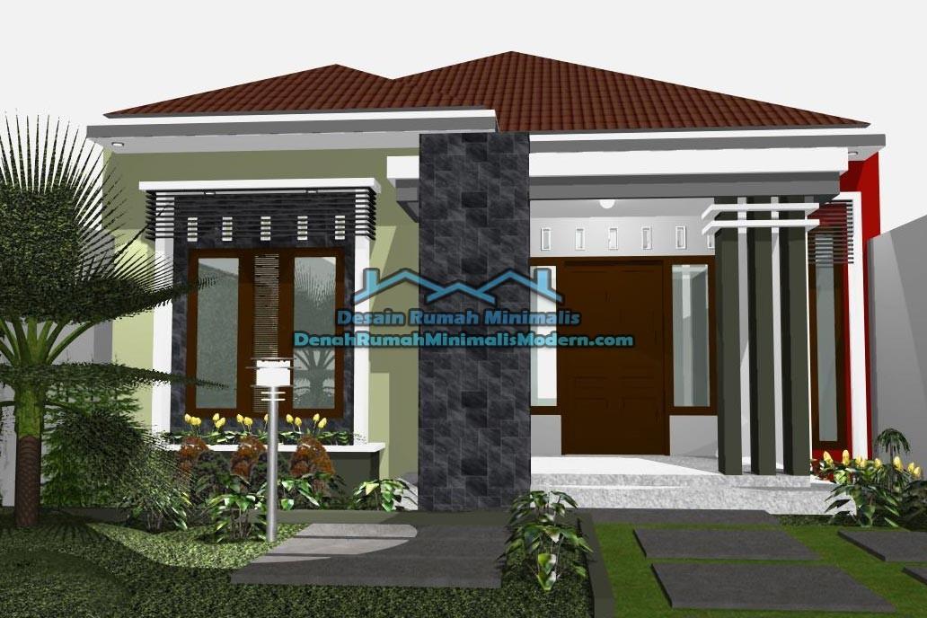 fasad rumah minimalis 1 lantai 1