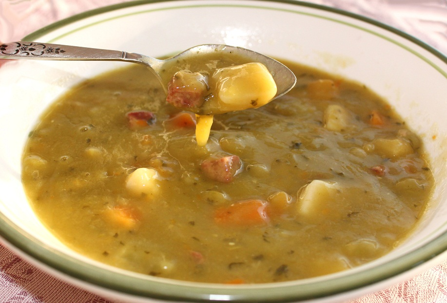 this is split pea soup