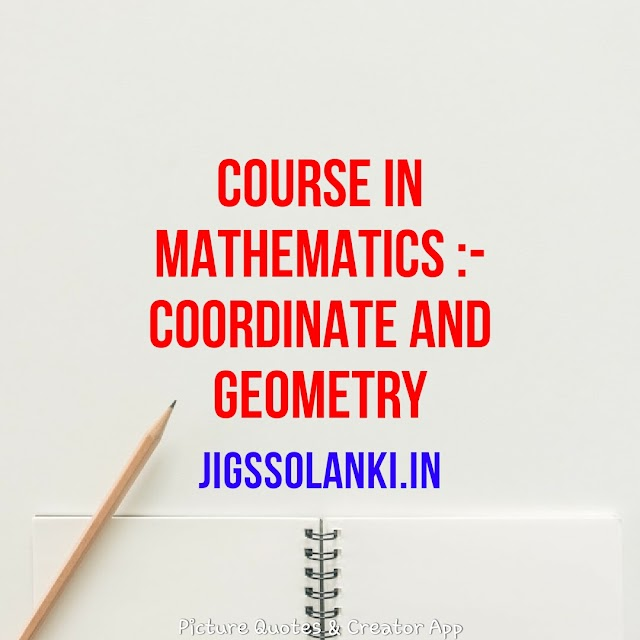 2D COORDINATE GEOMETRY:- COURSE IN MATHEMATICS FOR THE IIT JEE AND OTHER ENGINEERING ENTRANCE EXAM