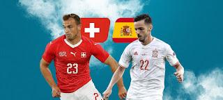 Швейцария - Испания где СМОТРЕТЬ ОНЛАЙН БЕСПЛАТНО 2 июля 2021 года (ПРЯМАЯ ТРАНСЛЯЦИЯ) в 19:00 МСК.
