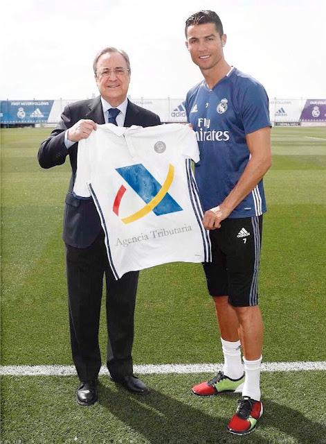 Camiseta de Cristiano Ronaldo para la nueva temporada