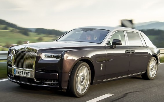 Rolls-Royce Phantom Extended wheelbase: $497.525