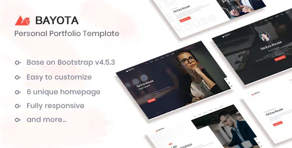 Best Responsive Personal and Portfolio Template