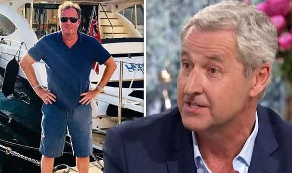 Sky News presenter is hitting for a ' flash yacht ' holiday at Piers Morgan
