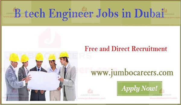 New job vacancies in Gulf countries, Engineering job opportunities in UAE,