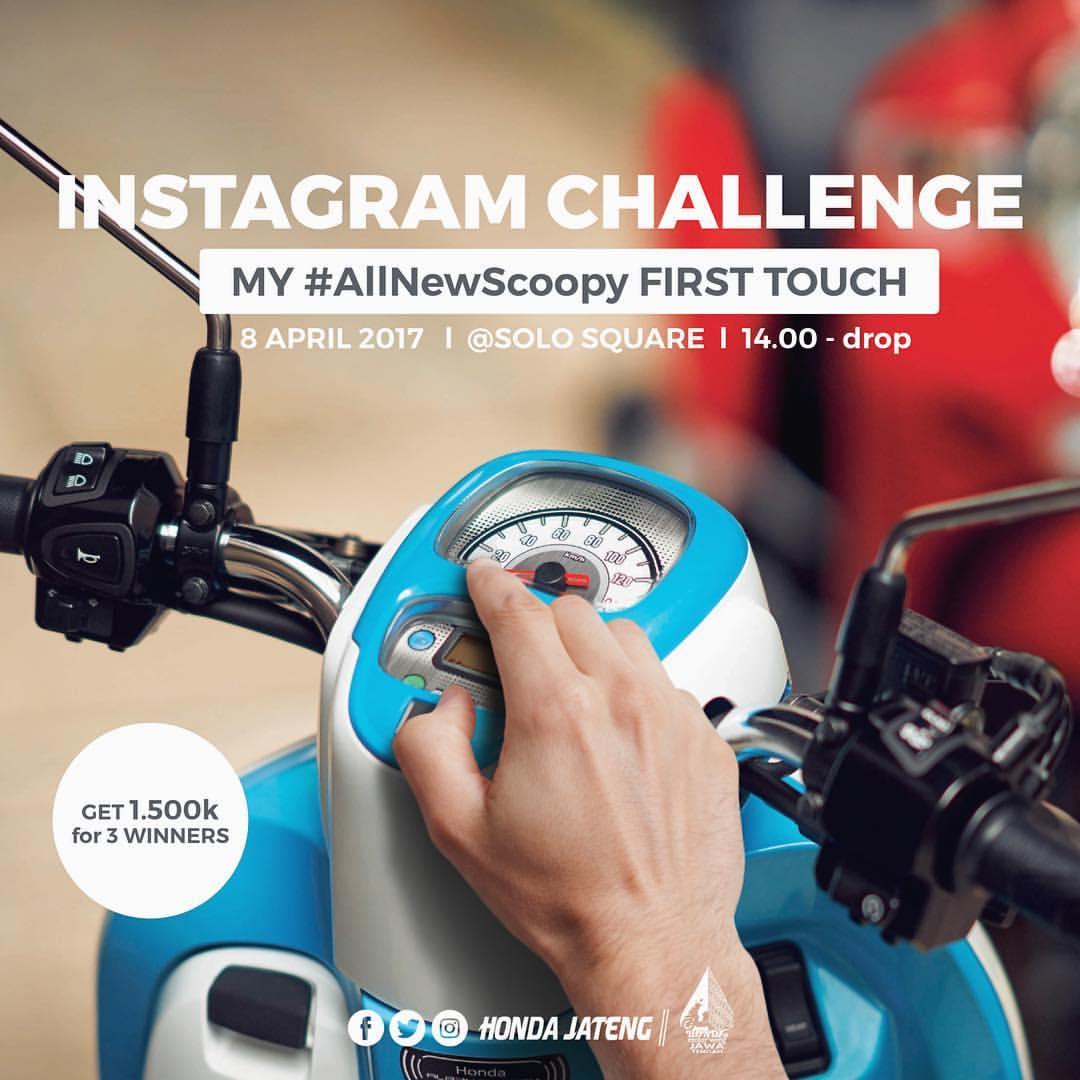 Anisa Counter Sales Dealer Nagamas Motor Klaten All New Supra Gtr 150 Sporty Spartan Red Wonogiri Instagram Challange Scoopy First Touch