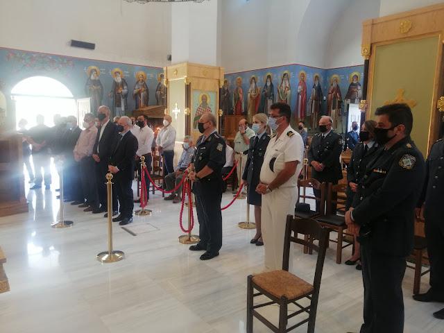 Δοξολογία στην Αργολίδα για την Ημέρα Τιμής των Αποστράτων της Ελληνικής Αστυνομίας