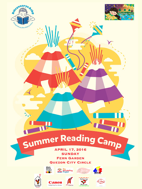 Be part of the 3rd Summer Reading Camp!