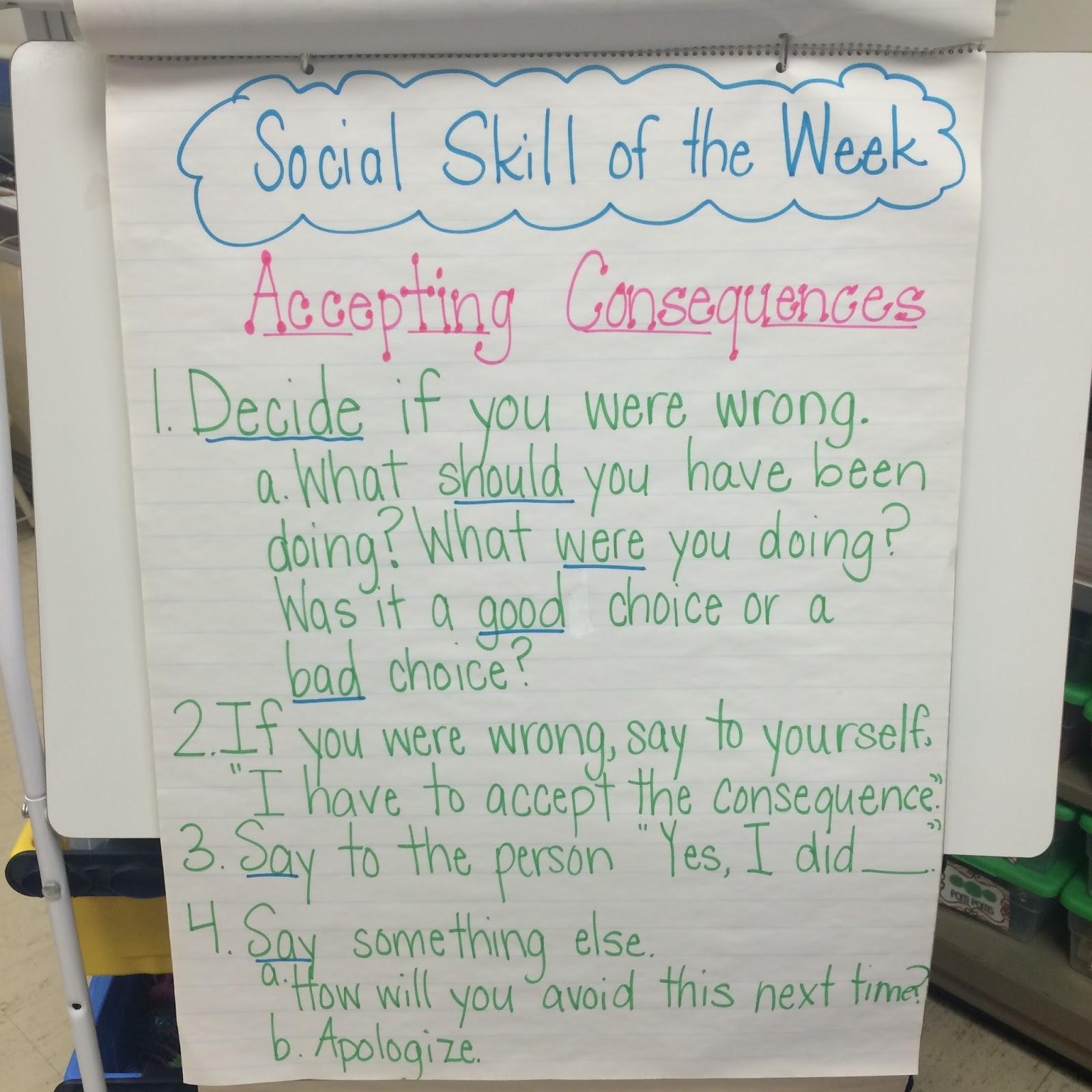 Teaching Social Skills in an Elementary Class