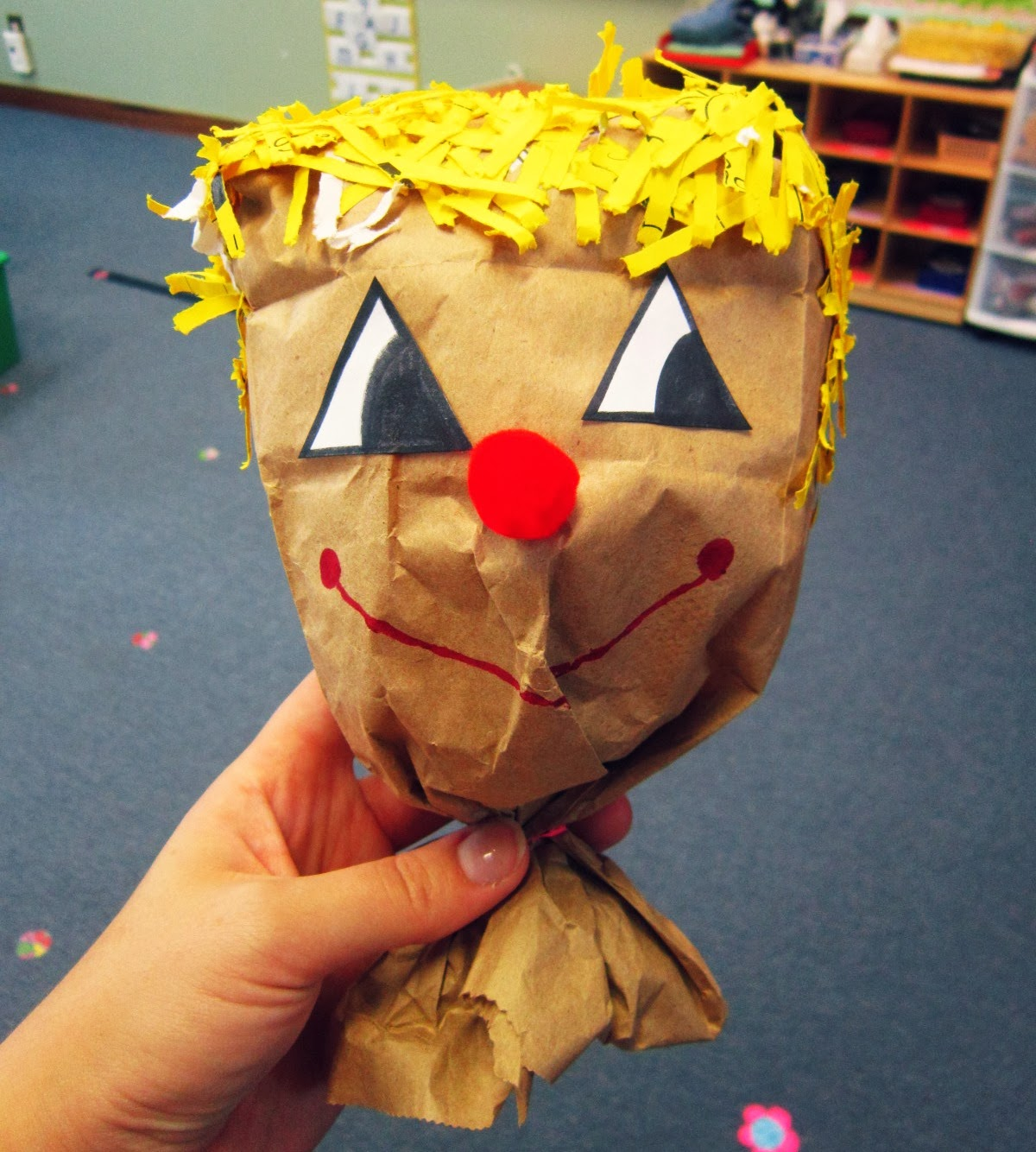 Miss Yellow Shoes Preschool Fall Activity Friendly Scarecrow