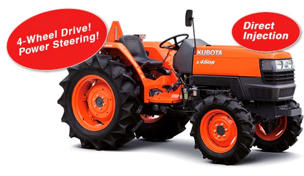 Kubota L4508 Tractor Information Features Price In