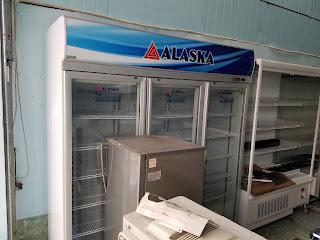 Sửa chửa tủ mát 3 cửa kính Alaska tại Huế