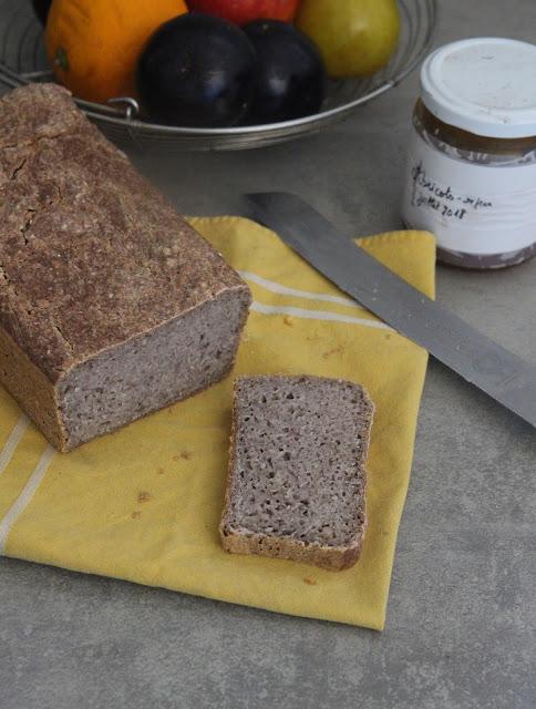 Cuillère et saladier : Pain de sarrasin fermenté (sans gluten - IG bas)